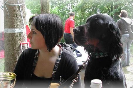 3.6.2007 Hund und 'Herrl'