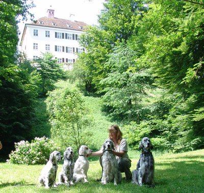 3.6.2007 vor Schloss Greifenberg am Ammersee