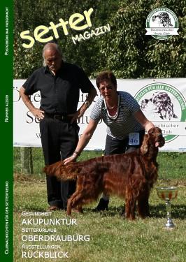 Titelbild: Juggernaut's Gespo Murphy von Riek Janssen, Master of Setter Day-Kärnten 2009