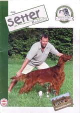 Titelbild: Marvin vom Haselhorst, Master of Setter Day-Kärnten 2003