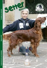 Titelbild: Master of Setter-Day 2007 Loving Red Cute Dia mit Besitzerin Gertrude Rehberger