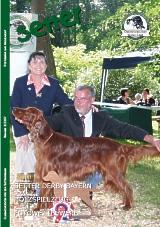 Titelbild: Master of Setter-Day Bayern, Berboss-Peek-a-Boo mit Besitzer Franz Pfaffel und Richterin Jaqueline Bayne